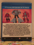 Challenge of the GoBots the Complete Series 2 Seasons with 65 Episodes and the TV Movie on 3 Blu-ray Discs