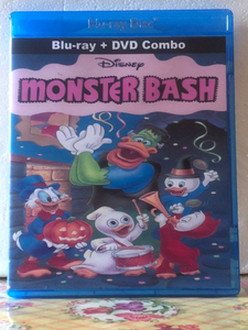 Disney's Monster Bash on Blu-ray DVD Combo Set