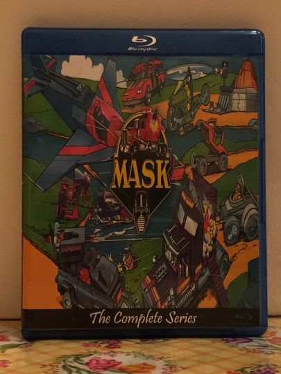 M.A.S.K. The Complete Series 2 Seasons 75 Episodes on 4 Blu-ray Discs