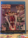 Iron Man 1994 the Complete Animated Series 2 Seasons with 26 Episodes on 2 Blu-ray Discs