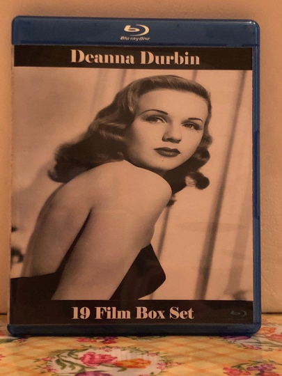 Deanna Durbin: the Ultimate Collection 19 Film Box Set on 4 Blu-ray Discs