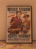 Belle Starr The Bandit Queen 1941 Randlph Scott, Gene Tierney on DVD