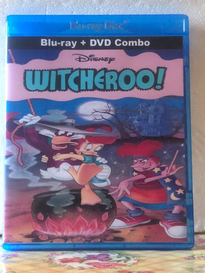 Disney's Witcheroo on Blu-ray DVD Combo Set