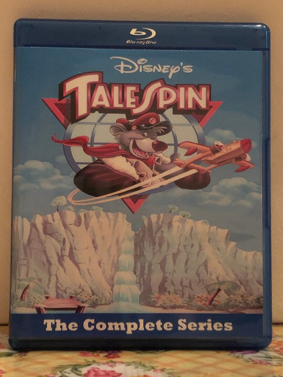 Disney's Talespin the Complete Series all 65 Episodes on 3 Blu-ray Discs