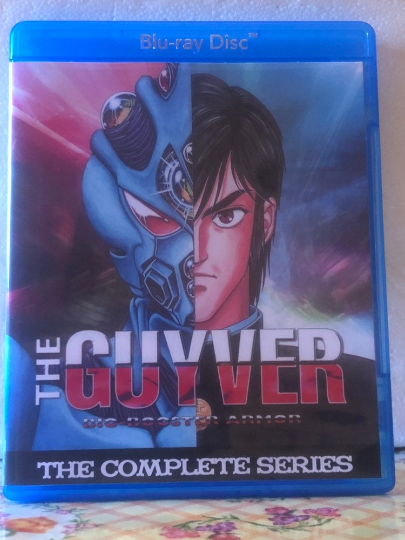 The Guyver Bio-Booster Armor The Complete Series on Blu-ray 1080p HD