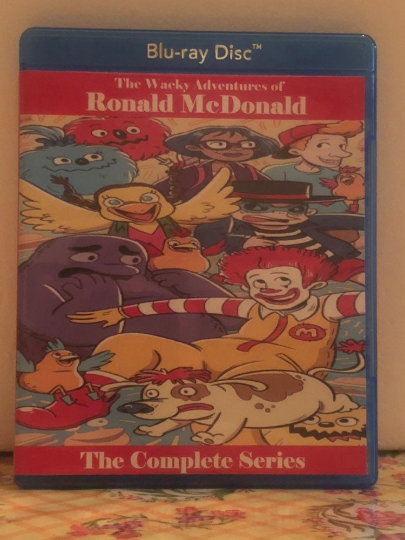The Wacky Adventures of Ronald McDonald The Complete Series on Blu-ray