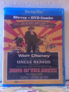 Disney's Song of the South on Blu-ray/DVD Combo Both 16MM & 35MM Version
