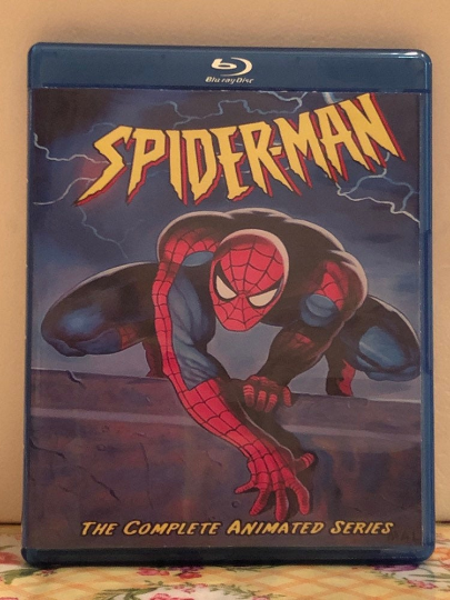 Spider-Man the Animated Series 1994 the Complete Series 5 Seasons with 65 Episodes on 3 Blu-ray Discs