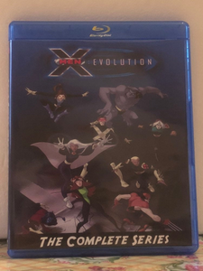 X-Men Evolution The Complete Series 4 Seasons with 52 Episodes on 3 Blu-ray Discs
