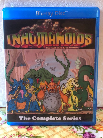 Inhumaniods the Evil that Lies from Within the Complete Series all 13 Episodes on Blu-ray
