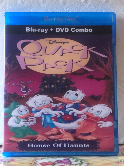 Disney's Quack Pack House Of Haunts on Blu-ray DVD Combo Set