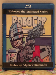 Robocop the Animated Series 1988 & Robocop Alpha Commando 1999 on 3 Blu-ray Discs two Complete Series in One Set