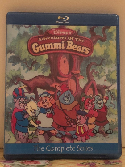 Disney's Adventures of the Gummi Bears 6 Seasons with 65 Episodes (95 Segments) on 3 Blu-ray Discs