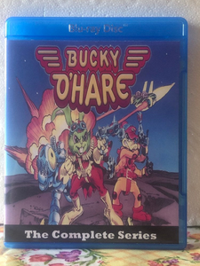 Bucky O'Hare and the Toad Wars The Complete Series with all 13 Episodes on Blu-ray