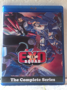 EXO Squad The Complete Series 2 Seasons with 52 Episodes on 3 Blu-ray Discs