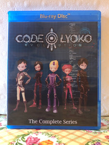 Code Lyoko Evolution The Complete Series 26 Episodes with English Subtitles on 2 Blu-ray Discs in 720p HD