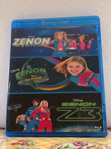 Zenon Collection: The girl of the 21st-century, The Zequel, Z3 on Blu-ray in 720p HD