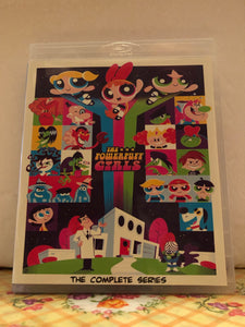 The Powerpuff Girls (1998) The Complete Series 6 Seasons 78 Episodes (136 Segments) Plus Specials and Movie on 6 Blu-ray Discs in 720p HD
