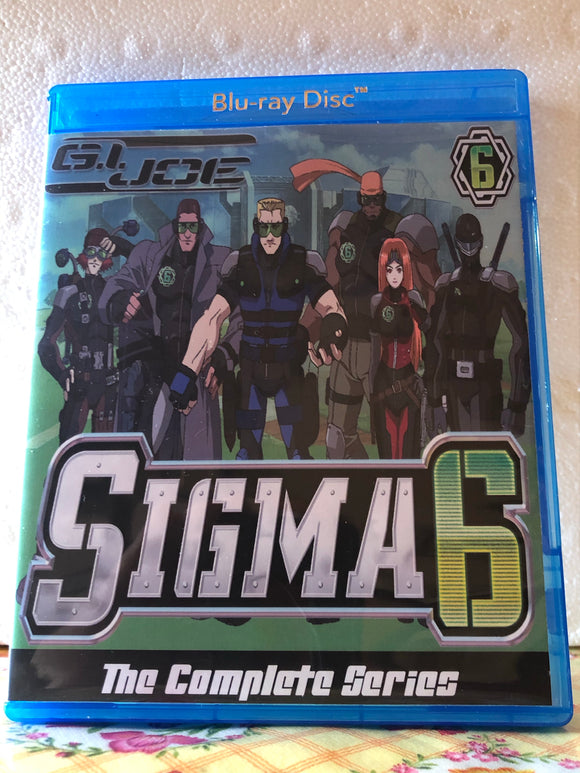G.I. Joe Sigma 6 The Complete Series 2 Seasons with 26 Episodes on 2 Blu-ray Discs in 720p HD