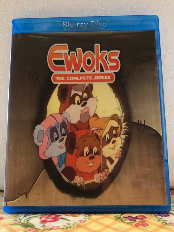 Star Wars Ewoks The Complete Series 2 Seasons, 26 Episodes (35 Segments) on 2 Blu-ray Discs in 720p HD