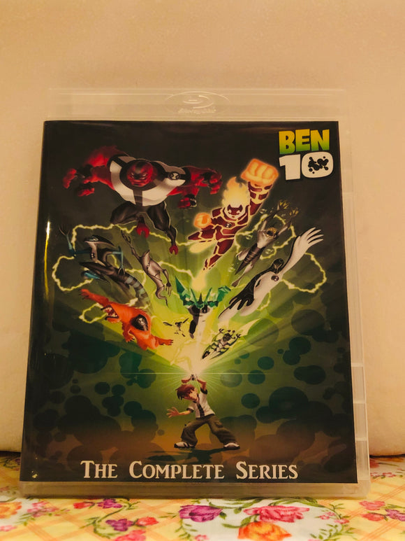 Ben 10 (2005) The Complete Series 52 Episodes, Shorts and Movies on 5 Blu-ray Discs in 1080p HD