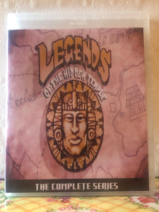 Legends of the Hidden Temple The Complete Series 3 Seasons with 120 Episodes on 6 Blu-ray Discs in 720p HD
