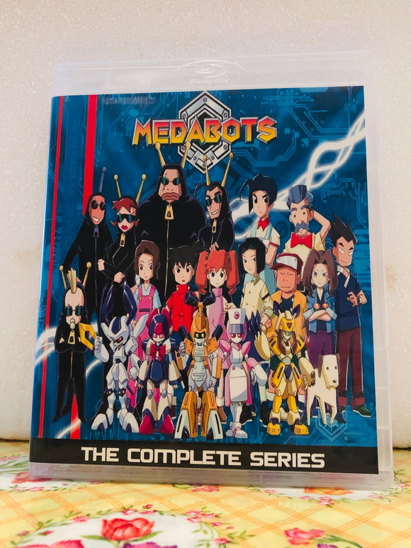 "Metabots The Complete Series ""English Dubbed"" 91 Episodes Set on 6 Blu-ray Discs in 720p HD"