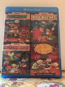 Disney Halloween Collection: Witcheroo!, Boo-Busters, Monster Bash, Quack Pack House of Haunts on Blu-ray in 1080p HD