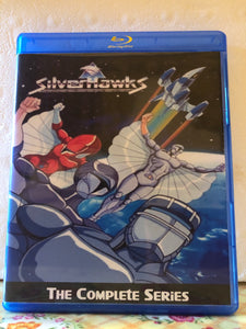 SilverHawks The Complete Series 65 Episodes on 3 Blu-ray Discs