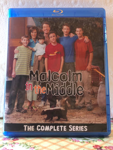 Malcolm in the Middle The Complete Series 7 Seasons with 151 Episodes on 10 Blu-ray Discs in 720p HD