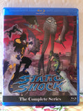 Static Shock The Complete Series 4 Seasons with 52 Episodes on 4 Blu-ray Discs in 720p HD