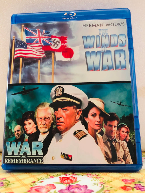 Winds of War & War and Remembrance The Complete Collection on 7 Blu-ray Discs in 720p HD