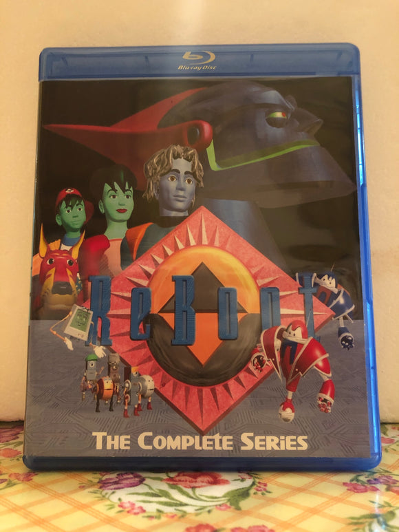 Reboot The Complete Series 4 Seasons with 48 Episodes on 3 Blu-ray Discs in 720p HD