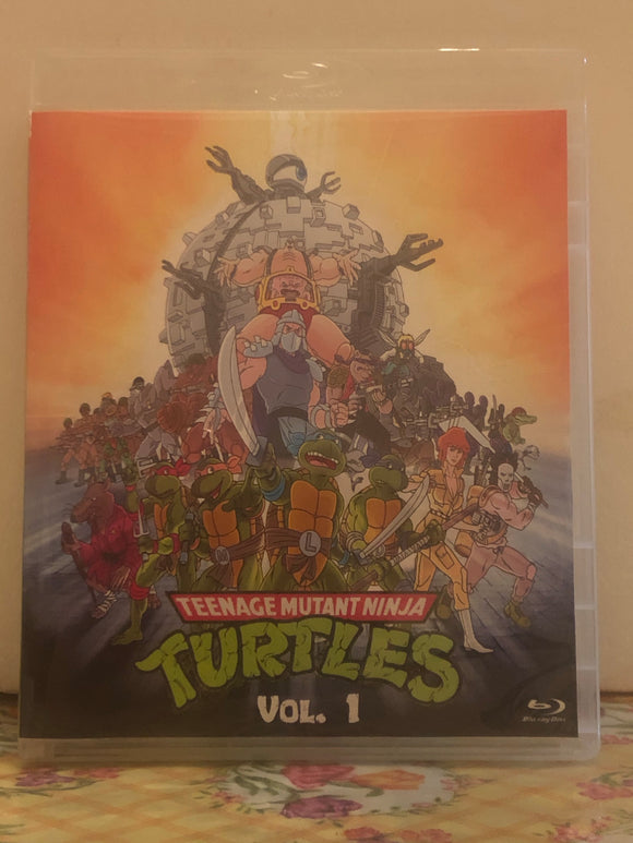 Teenage Mutant Ninja Turtles TMNT 1987 The Complete Series 10 Seasons with 193 Episodes on 12 Blu-ray Discs 2 Volume Set in 720p HD
