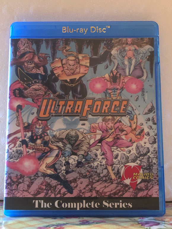 Ultraforce The Complete Series 13 Episodes on Blu-ray in 720p HD
