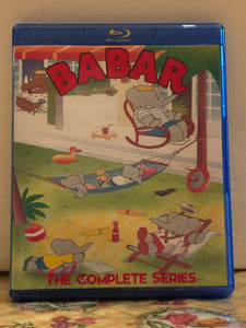 Babar The Complete Series plus Movies 6 Seasons with 78 Episodes and 2 Movies on 4 Blu-ray Discs