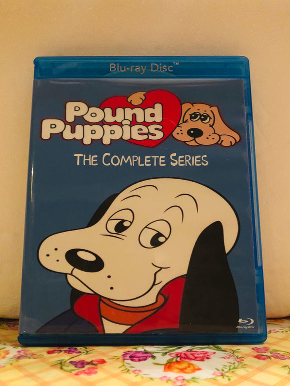Pound Puppies 1985-1988 The Complete Series 2 Seasons 26 Episodes, TV Special and Movie on 2 Blu-ray Discs in 720p HD