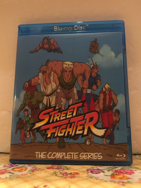 Street Fighter the Animated Series The Complete Series 2 Seasons with 26 Episodes on 2 Blu-ray Discs in 720p HD