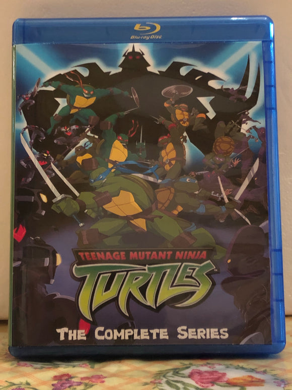 "Teenage Mutant Ninja Turtles TMNT 2003 The Complete Series 7 Seasons 155 Episode and ""Mayhem from Mutant Island"" plus the Movie ""TV Version and Directors Cut"" on 10 Blu-ray Discs in 720p HD"