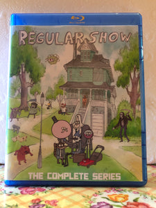Regular Show The Complete Series 8 Seasons 261 Episodes with Movie, Shorts and Pilot on 9 Blu-ray Discs in 720p HD