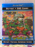 TMNT OVA Mutant Turtles Superman Legend The Complete Series on Blu-ray 1080p HD & DVD Combo