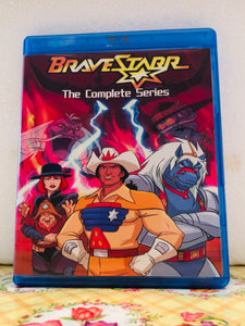 Bravestarr The Complete Series 65 Episodes plus the Movie on 4 Blu-ray Discs in 720p HD