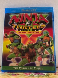 "Ninja Turtles The Next Mutation The Complete Series 26 Episode Set plus ""Power Ranger in Space Crossover"" on 2 Blu-ray Discs in 720p HD"