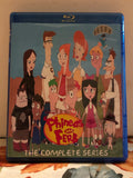 Phineas and Ferb The Complete Series 4 Seasons, 133 Episodes on 10 Blu-ray Discs