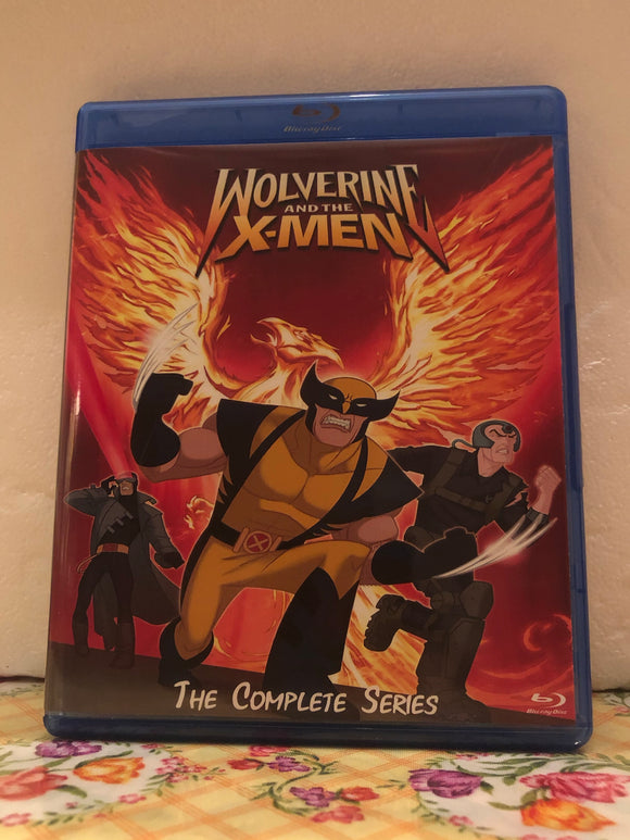 Wolverine and The X-Men The Complete Series 26 Episode Set on 3 Blu-ray Discs in 1080p HD with 5.1 DD