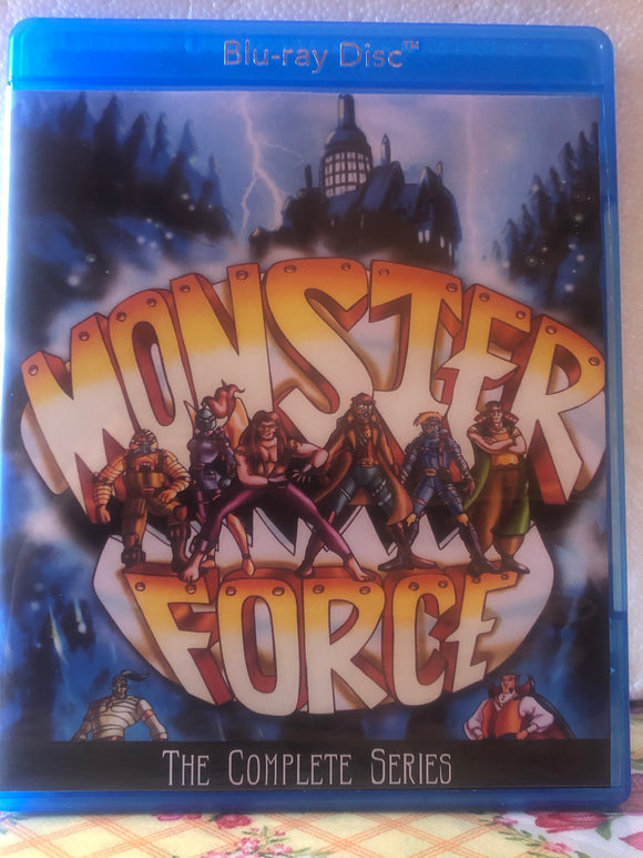 Monster Force The Complete Series 13 Episode on Blu-ray