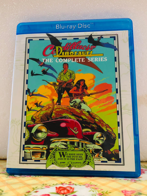 Cadillacs and Dinosaurs The Complete Series 13 Episode Set on Blu-ray