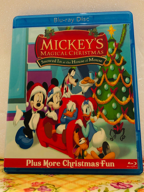 Mickey's Magical Christmas: Snowed in at the House of Mouse plus Bonus's on Blu-ray in 720p HD
