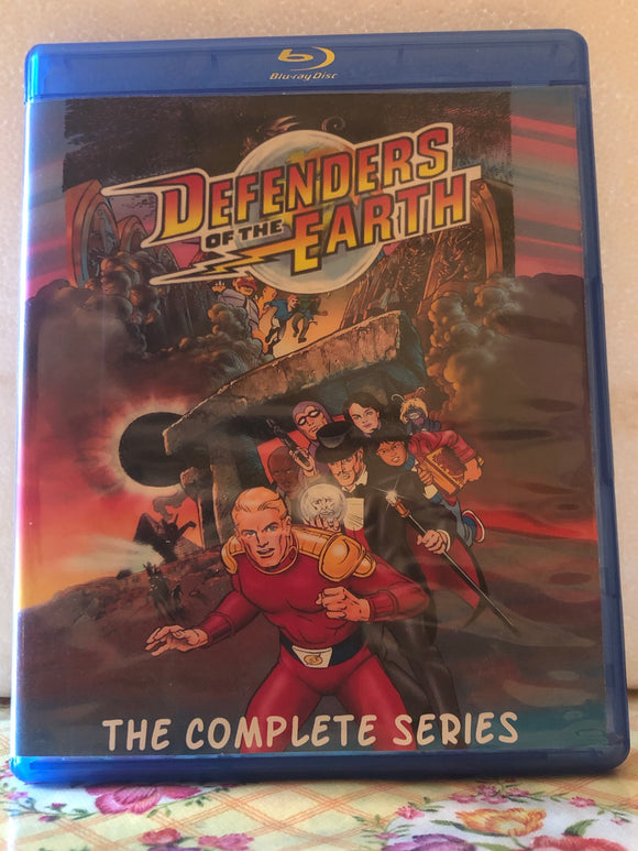 Defenders of the Earth The Complete Series 65 Episode Set on 4 Blu-ray Discs in 720p HD