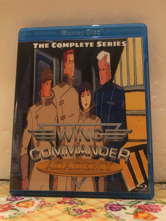 Wing Commander Academy The Complete Series all 13 episodes on Blu-ray in 720p HD